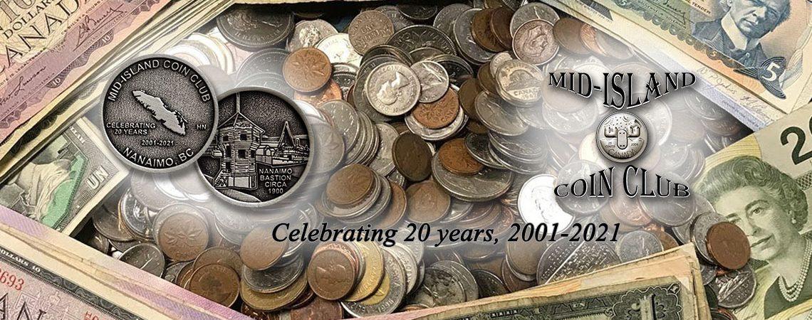Mid-Island Coin Club - Image header 01
