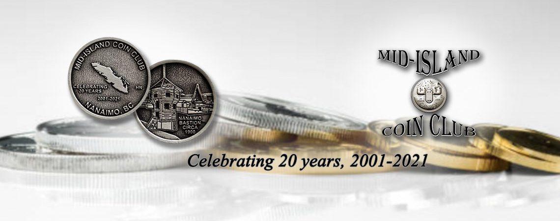 Mid-Island Coin Club - Image header 02