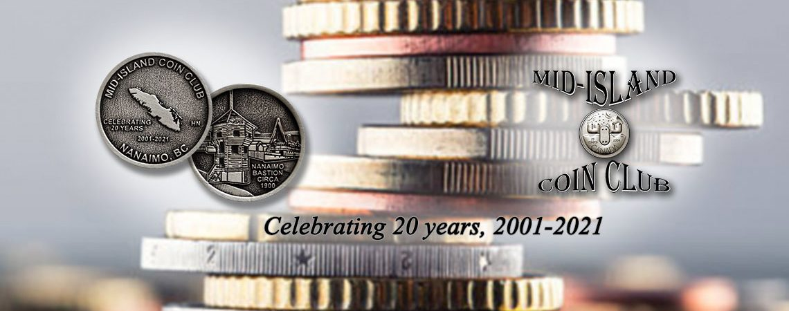Mid-Island Coin Club - Image header 03