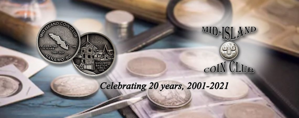 Mid-Island Coin Club - Image header 05